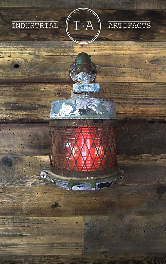 Antique Railroad Station Sconces