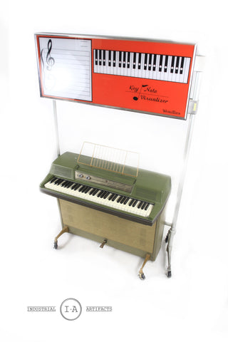 Vintage Wurlitzer 214 Electric Piano w/ Teaching Display