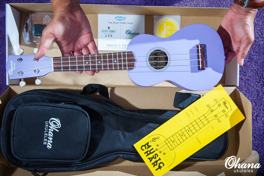 ukulele starter pack set
