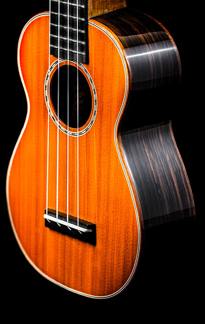 Ohana Ukuleles SK-50G Solid Cedar and Solid Rosewood Soprano