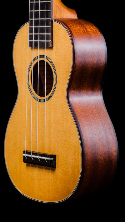 Obsolete Models SK-75 Solid Spruce and Solid Mahogany Soprano