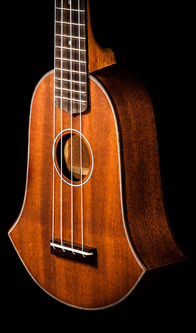 Vintage Line Bell Shaped SKB-35 All-Solid Mahogany Soprano
