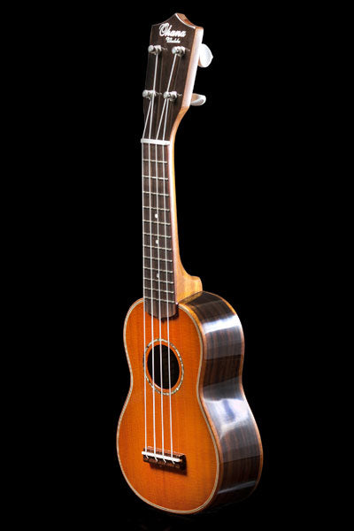 Short Scale Sopranino Series SK-21A Solid Cedar And Solid Rosewood Sopranino