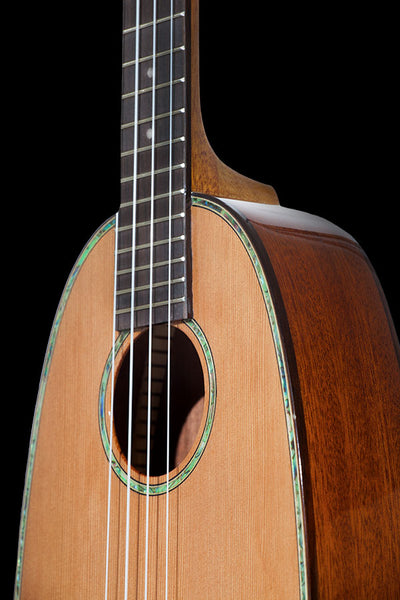 Pineapples Series PKC-50G Pineapple Shaped Solid Cedar & Solid Mahogany Concert