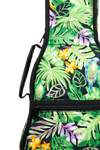 Ohana Ukuleles UB-XXAG Green Tropical Print Gig Bag