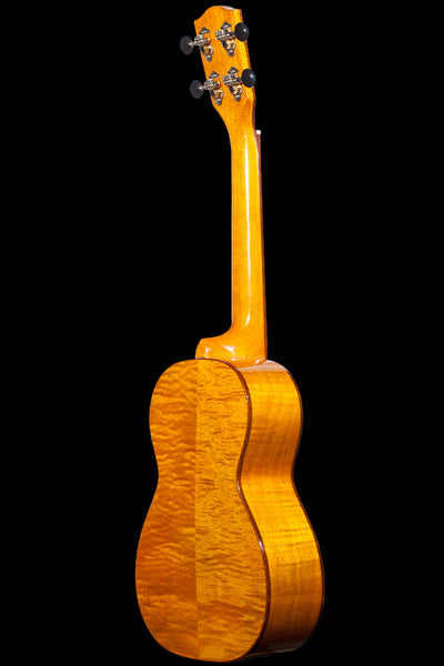 Ohana Ukuleles CK-50MG Solid Cedar and Flamed Mahogany Concert