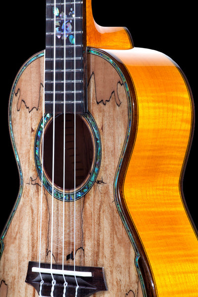 Limited Edition CK-450SMP Solid Spalted Maple Concert Ukulele