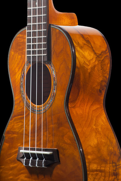 Laminate Series CK-150SMP Spalted Maple Concert Ukulele