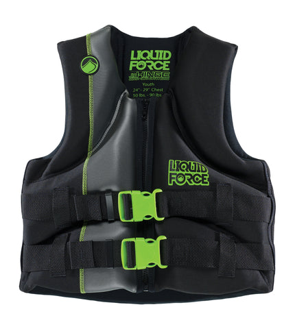 Liquid Force Neon Green Child Vest