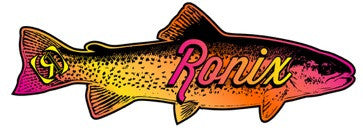 Ronix Fish Sticker