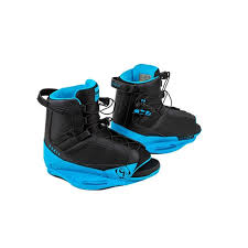 2018 Ronix District Boot - Black/Azure Blue