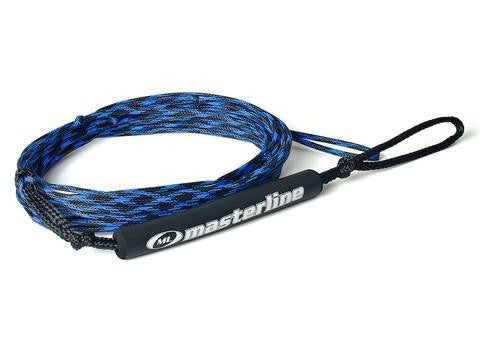 Non-stretch Spectra Fusion Rope for trick skiing.