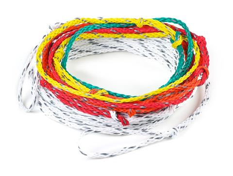 Lighter weight slalom rope designed for G1, G2 , B1 & Women 6 and above divisions to prevent sagging rope for lightweight skiers.