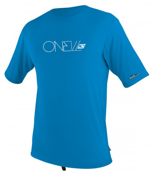 O'Neill  Youth Skins S/S Rash Tee - Fog Blue