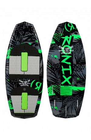 2021 Super Sonic Space Odyssey - Powertail - Black / Green - 3'9