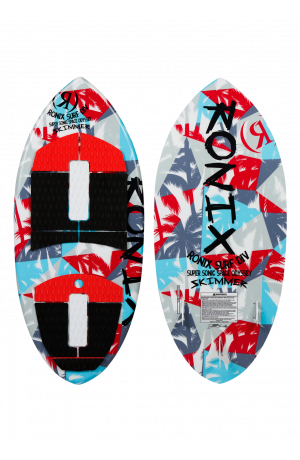 2021 Super Sonic Space Odyssey - Skimmer - White / Red / Blue - 3'11