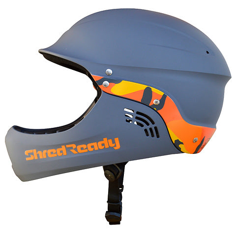 Shred Ready Full Face Helmet Camoflauge