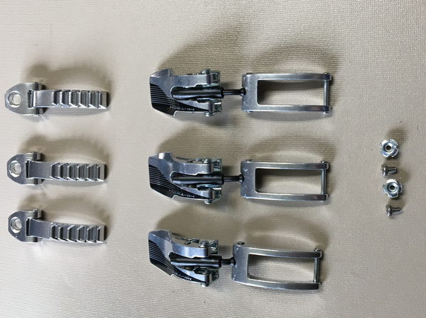 Reflex Aluminum Buckle Set