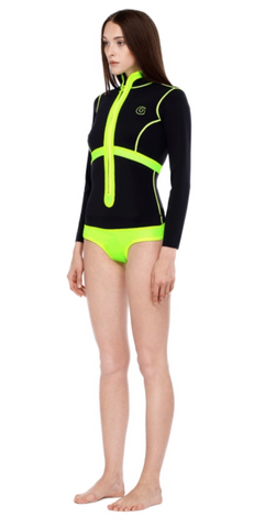Glidesoul Spring Suit - 1MM - Lemon Black