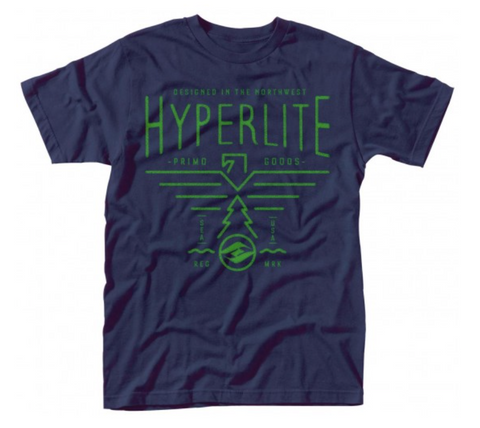 Hyperlite Northwest Tee - Navy