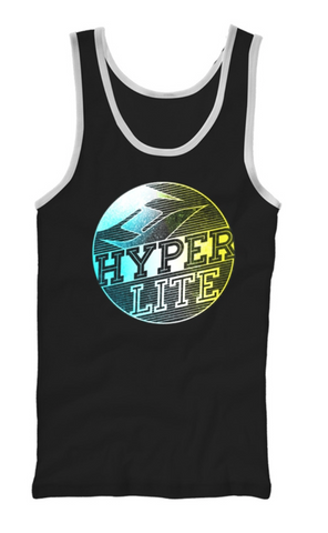 Hyperlite Globe Tank Top Black