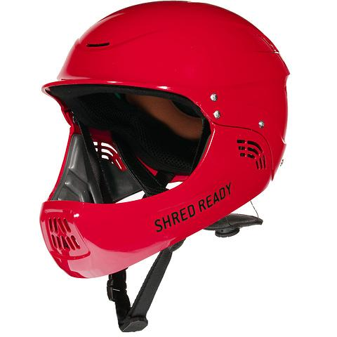 Shred Ready Standard Full Face Red