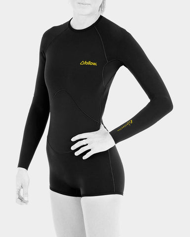 FOLLOW - LADIES ATLANTIS 1.5MM L/S SPRINGY - 8