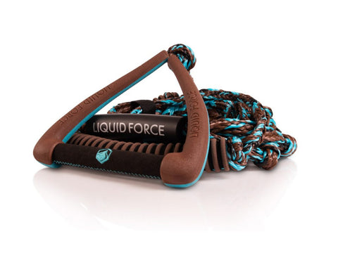 "Liquid Force Surf 9"" Ultra Suede Rope Brown"