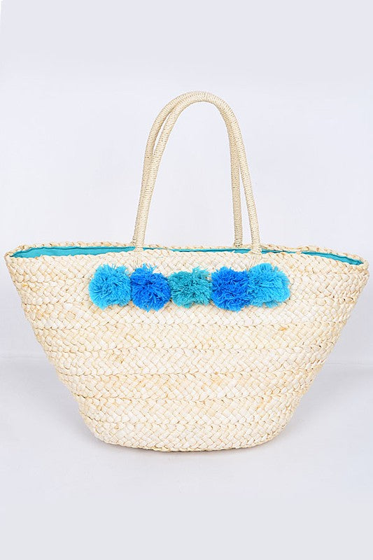 Playa Azul Summer Bag