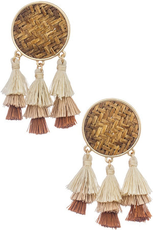 Woven Earrings | LISBOA