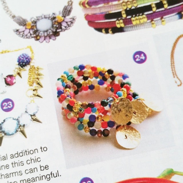 Eliana Bracelets ENSEMBLE as seen on GLAMOUR UK Magazine. - LISANA FALCON - jewelry -