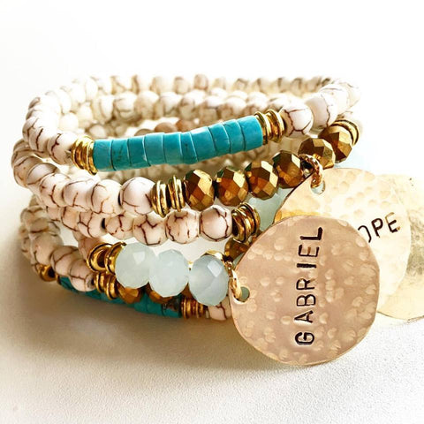 SEASHORE STACK - LISANA FALCON - jewelry -