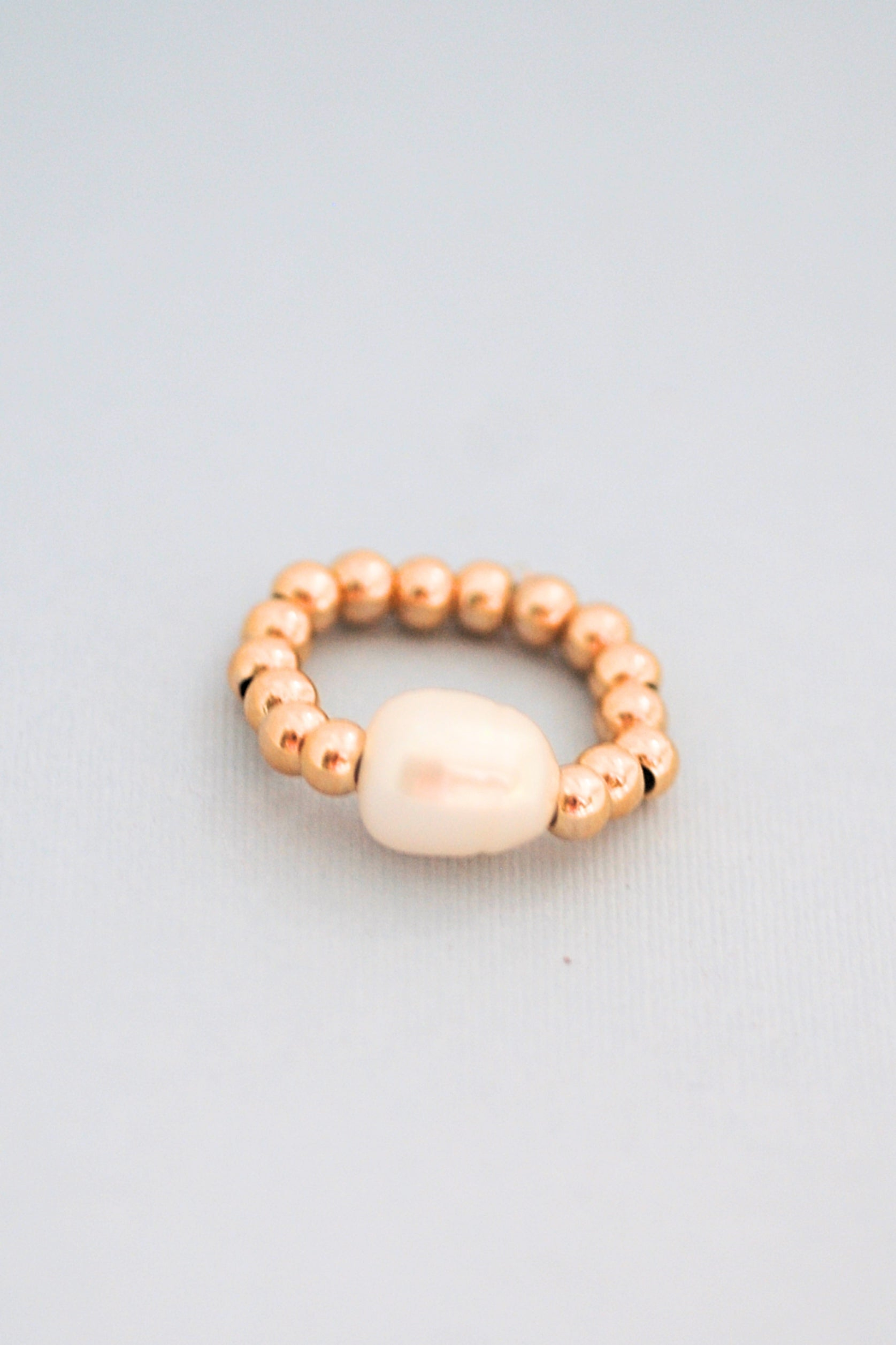 Pearl Moons Trio Rings