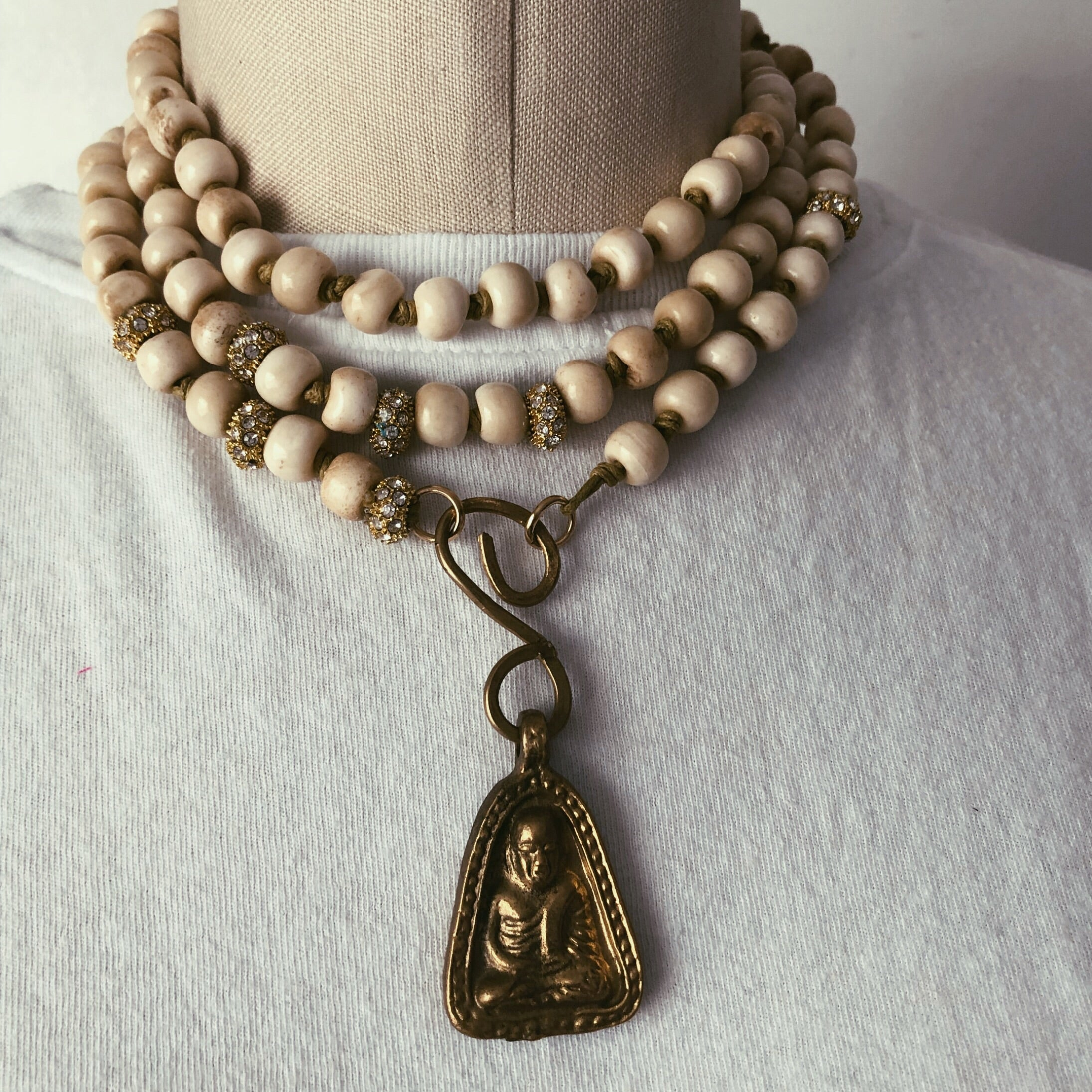 Buddha Long Necklace