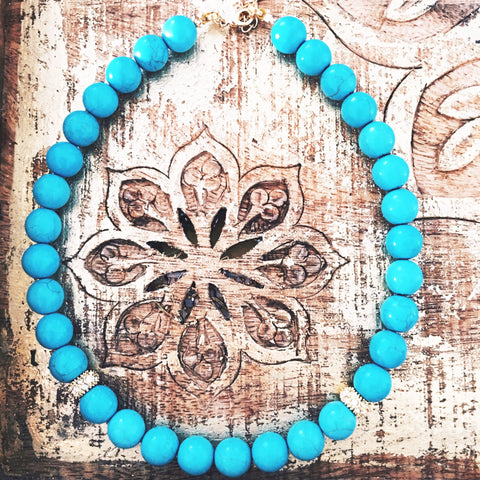 Turquoise short Necklace