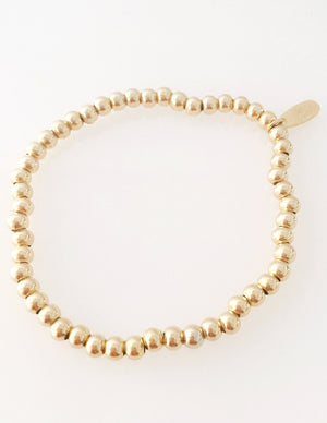 Classic  Skinny Gold Medium Bracelet