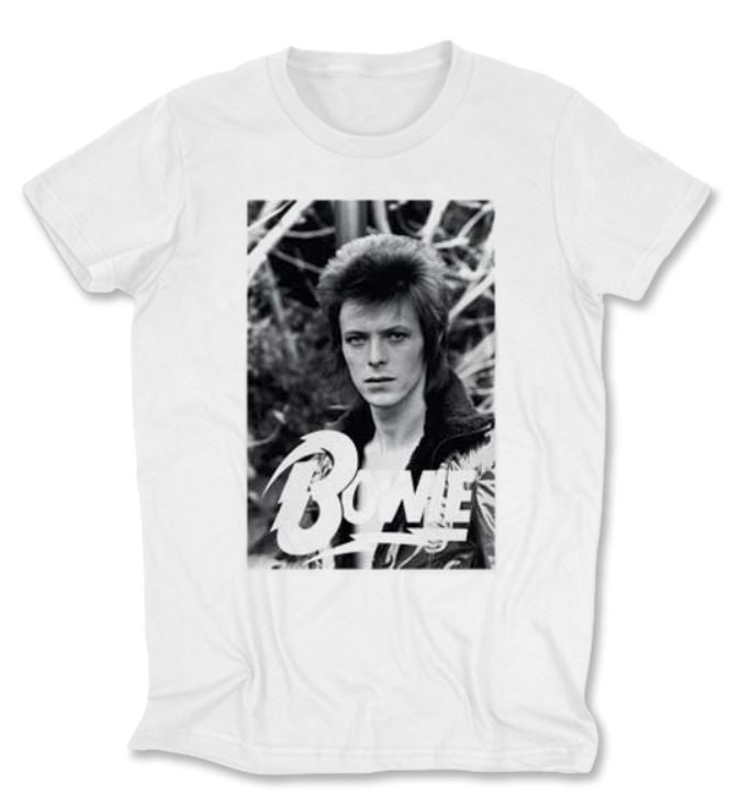STAR 500 - BOWIE VINTAGE WOMAN'S T-SHIRT - FETISH