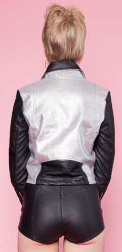 24 Hrs. by Lipservice - SPARKLE MOTO JACKET - FETISH
