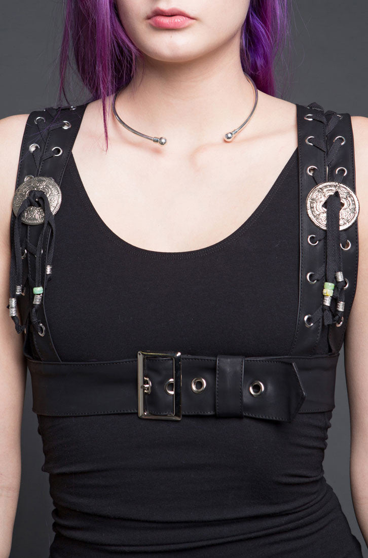 GHOST DANCER LEATHERETTE HARNESS