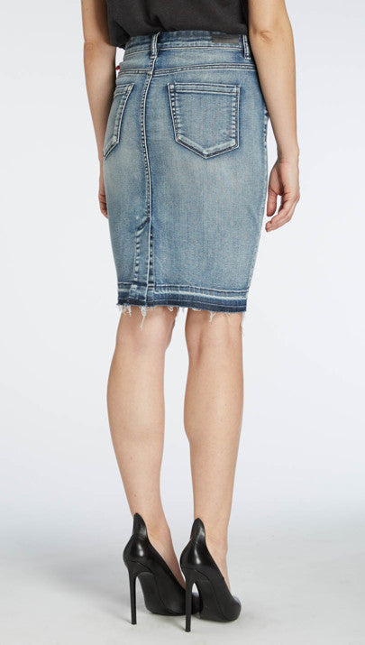 BLANK NYC - DENIM PENCIL SKIRT - FETISH