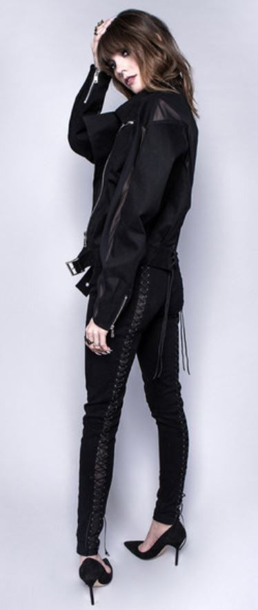 HOUSE OF WIDOW - SHADOW PLAY JACKET - FETISH