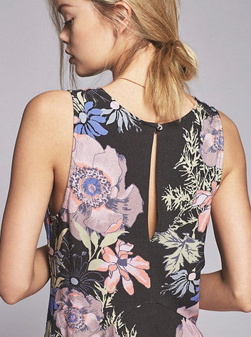 FREE PEOPLE - BACK YARD PARTY PRINTED TUNIC (2 COLORS AVAILABLE) - FETISH
