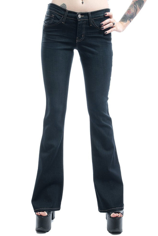 BASIC STRETCH FLARE JEAN