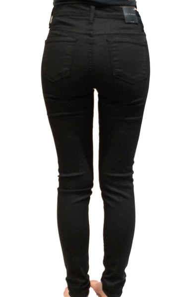 FLYING MONKEY - HI WAISTED BLACK SKINNIES - FETISH