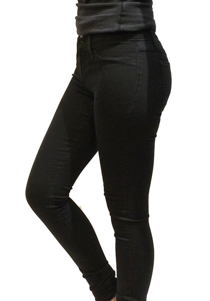 BLACK 5 POCKET JEGGING