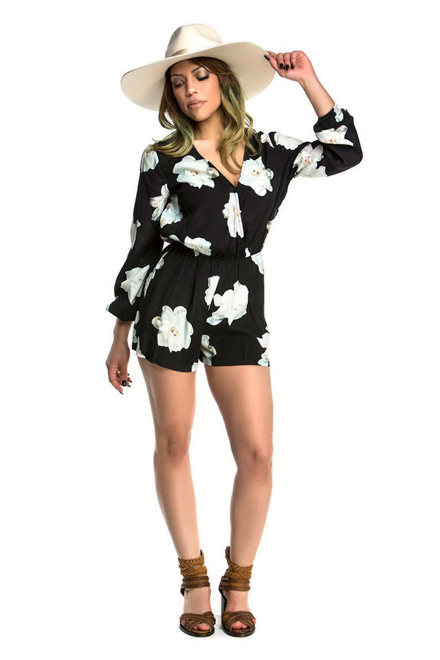 WILLOW & CLAY - BOTANICA ROMPER - FETISH