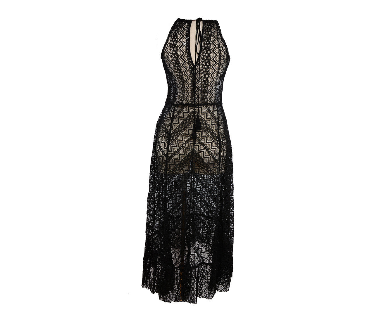 BRONSON LACE COVER UP MAXI