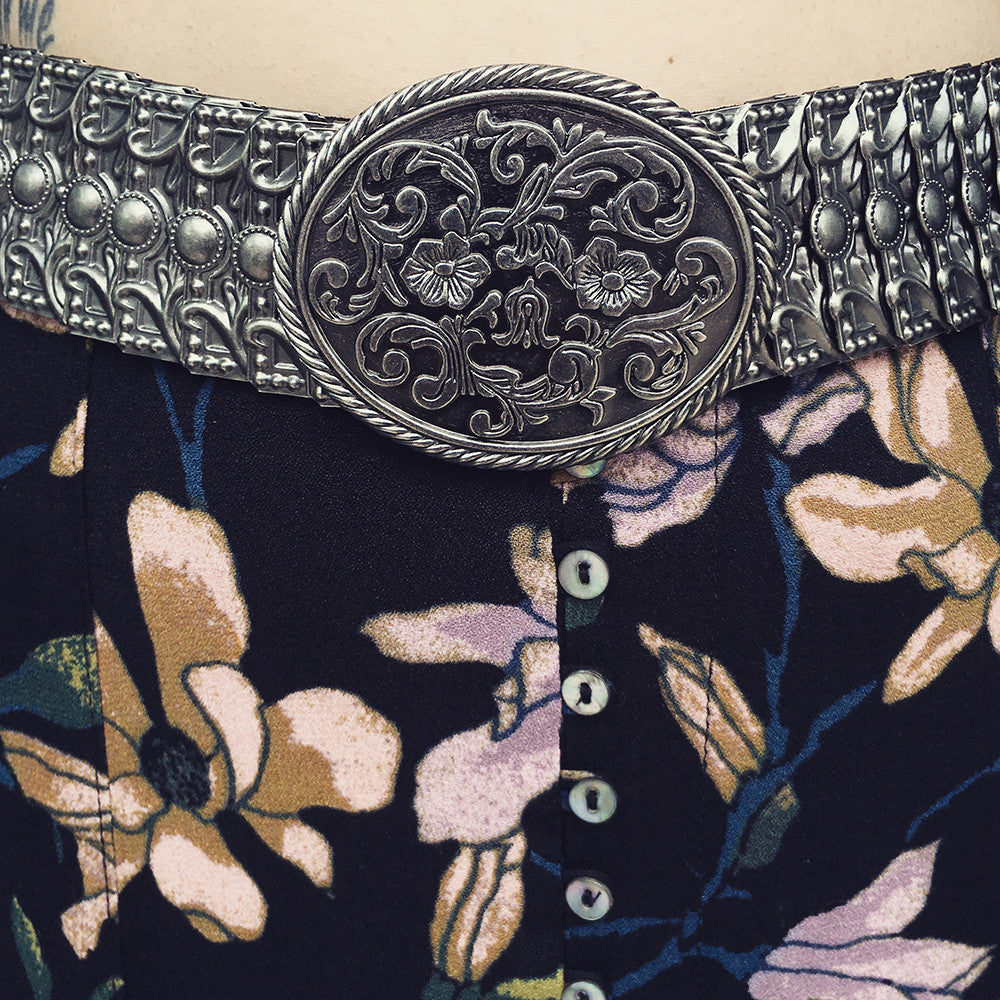 LOVESTRENGTH - CAROLE STACKED METAL BELT - FETISH