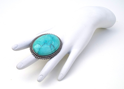 GASOLINE GLAMOUR - CHINESE TURQUOISE RING - FETISH