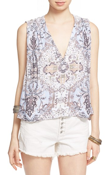 FREE PEOPLE - DARCY PRINTED TANK (2 COLORS AVAILABLE) - FETISH